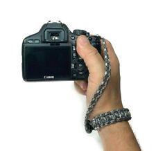 Titanium Handmade Adjustable Cobra Paracord DSLR Camera Safety Wrist Strap