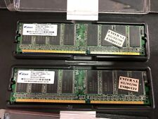 2x Memoria Ram ELIXIR 512MB DDR 400 MHZ CL3 PC2-3200U 30331 ram memory