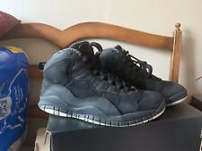 Air Jordan Retro 10 Stealth Black Size 9