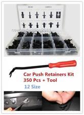 350pcs Car Auto Push Retainer Pin Rivet Trim Clip Panel Moulding Assortment+Tool