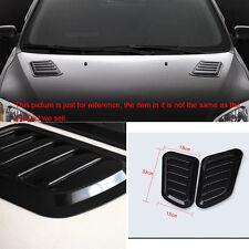 Universal 2 x Car SUV Body Fender Air Flow Intake Vent Bonnet Decorative Sticker