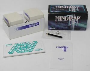 Vintage MINDTRAP Mystery Game Team Riddles 1996 Pressman EUC All Pieces Inside