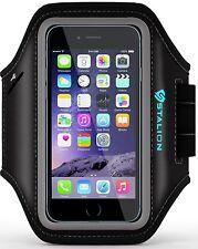 iPhone 6 6S Armband: Sports Running & Exercise Gym Sportband (Jet Black)