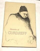 Memories of Gurdjieff A. L. Staveley 1978 1st Ed. Occult Mystic Fourth Way Rare