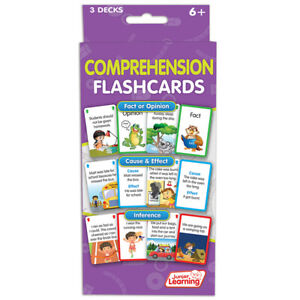 JUNIOR LEARNING COMPREHENSION FLASH CARDS 217