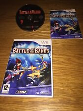 Battle of the Bands Nintendo Wii 12+ Music Game