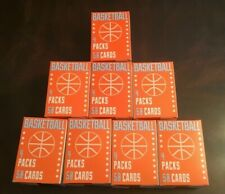 NBA FAIRFIELD LOT OF 8 BOXES BRAND NEW CONTENDER ,PRIZM, HOOPS 50 CARDS 4 PACKS