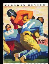 1933 USC vs Whittier Richard Nixon Football Program