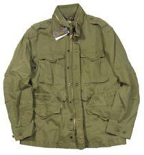 Polo Ralph Lauren Men's Green Yale M-65 Field Stow Away Hooded Jacket $295