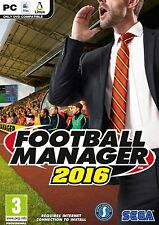 Football Manager 2016 (PC Nur Steam Key Download Code) Keine DVD, Steam Key Only