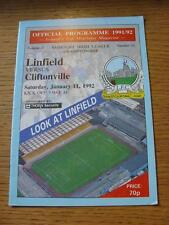 11/01/1992 Linfield v Cliftonville  (No obvious faults)