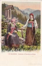 * VALSESIA - Costume di Carcoforo e Rima
