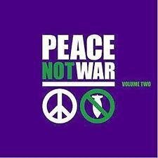 Peace Not War, Vol. 2 - Various Artists 2004 (2 SEALED Audio CD's)