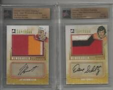 11/12 ITG ULTIMATE Superbox Memorabilia + Auto 1/1 Bouwmeester, Panthers Jersey