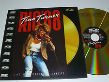 TINA TURNER Rio' 88 - Laser Disc LD - Live - NEAR MINT