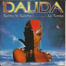 DALIDA Salma ya Salama / La Tumba MIXS FRANCE CD Single