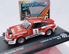 PORSCHE 911 SC #1 BEGUIN RALLYE CEVENNES 1979 1/43