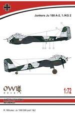 Owl 1/72 Junkers Ju-188A-2, 1./KG 2 # S7212