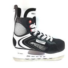 M&L Sport  Power Fit Eishockey Schlittschuh - Unisex - Gr. 43  Iceskate schwarz