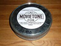 FILM 16 MM ACTUALITÉS MOVIETONE FOX NOIR ET BLANC SONORE OPTIQUE 1962 VF