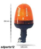 12V 24V Emergenza LED Ambra Rotante Lampeggiante Flessibile Camion Trattore 25cm