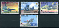 Kiribati 2009 MNH Naval Aviation 100th Anniv 4v Set Helicopters Ships Stamps