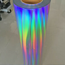 Holographic Laser Heat Transfer Vinyl Heat Press Film 20''x39.37'' Hot Sale