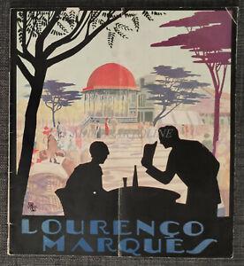 LOURENCO MARQUES - Maputo Mozambique, Touristic Brochure with Photos 1932