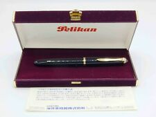 Ultra Rare - Pelikan 400NN M&K - Black Straited - Mint - New Old Stock Condition