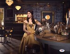 Emilie de Ravin SIGNED 11x14 Photo Belle Once Upon A Time PSA/DNA AUTOGRAPHED
