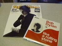 "Rolling Stone - NOVEMBER 2015 - Heft incl. CD & incl. BOB DYLAN 7"" Vinyl Single"