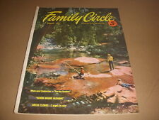 Family Circle Magazine, August, 1953, Circus Clowns Photos, 50's Kids Fashions!