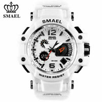 SMAEL Armbanduhr LED Digitaluhr Analog Sportuhr Militär Outdoor Wasserdicht C0I6
