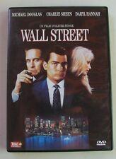 DVD WALL STREET - Michael DOUGLAS / Charlie SHEEN / Daryl HANNAH - Oliver STONE