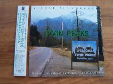 Twin Peaks Visual Soundtrack Japanese Laserdisc David Lynch RARE