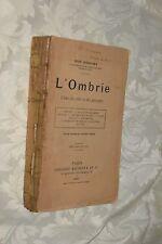 L'ombrie R. Schneider Paris Hachette 1907 L5