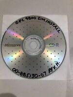 "GE OEC 9800 ""C"" Arm System Sim Install  CD Part # 00-885130-07 Rev. H"