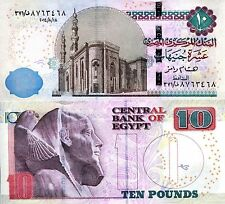 EGYPT 10 Pound Banknote World Paper Money UNC Currency Pick p-71? (New 2014-15)