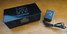 Maxx Digital AM/FM Clock Radio and Music System for iPod CR-100B