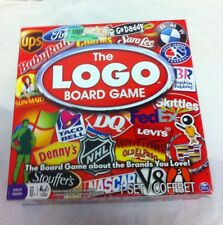 The Logo Board Game by Spin Master 1 Piece Missing Age 12+ Family Game