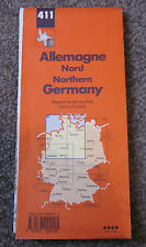 NORTHERN GERMANY  -  MICHELIN MAP  ,  SHEET 411