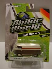 Greenlight Motor World German Volkswagen Panel Van Series 12 1:64 Diecast C11-98