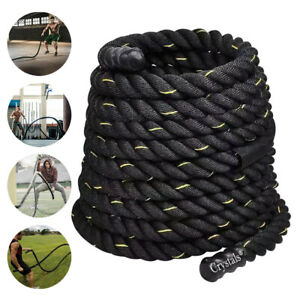 38/50mm 9/15meter Battle Power Rope Battling Sport Gym Exercise Fitness Training