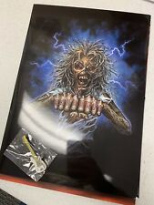 Iron Maiden Fan Club Magazine  #109, Pin, Poster, Band Pic, Sticker, Folder