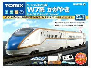 Tomix 90168 Basic set SD W7 series Kagayaki N Scale