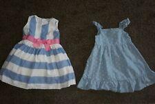 Lemon kiss & Carter's Baby Girl dress Size 12-18 Month! Lot of 2 dresses