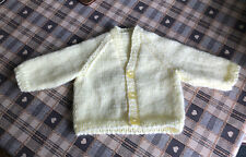 hand knitted premature baby cardigans Approx 3-5 Lb