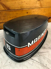 1980s Mariner 5 HP Outboard Engine Hood Top Cowl Cowling Cover Freshwater MN