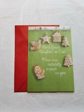 Christmas Greeting Card For Daughter In Law 8 x 5 1/2 inch Hallmark Expressions