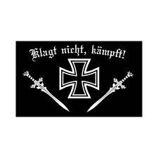 Fahne Flagge Deutsches Reich Klagt nicht kämpft - 90 x 150 cm